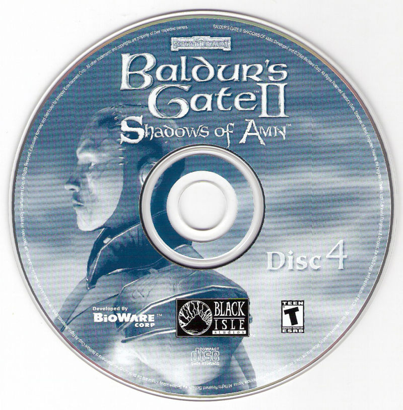 Baldur's Gate II: The Collection Windows Media SoA Disc 4