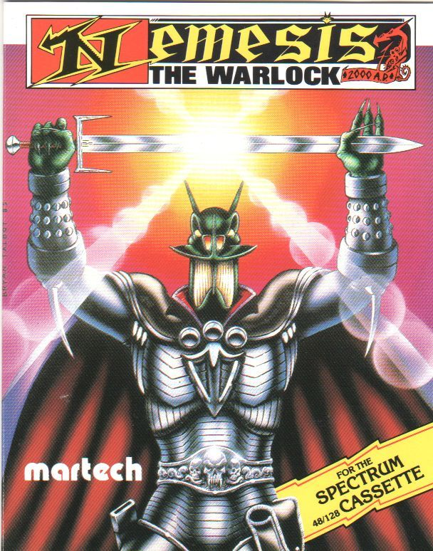 Nemesis the Warlock ZX Spectrum Front Cover