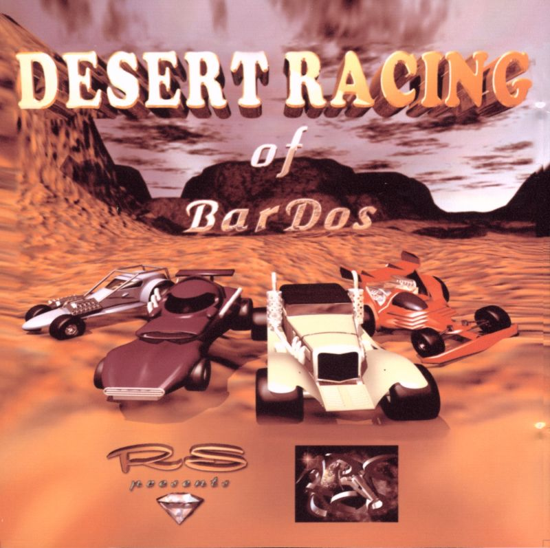 Desert Racing of BarDos Amiga Front Cover