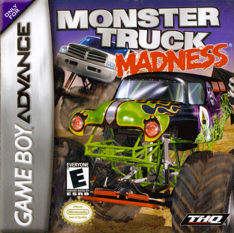 Monster Truck Madness Game Boy Advance Front Cover