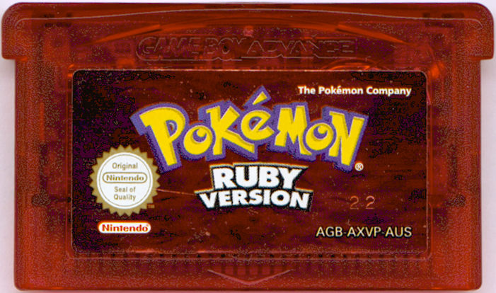 Pokémon Ruby Version Game Boy Advance Media