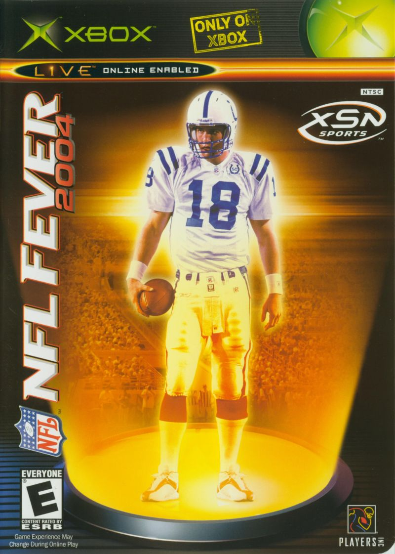 NFL Fever 2004 Xbox Front Cover