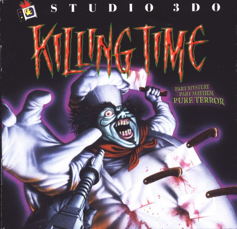 Killing Time Windows Other Jewel Case - Front