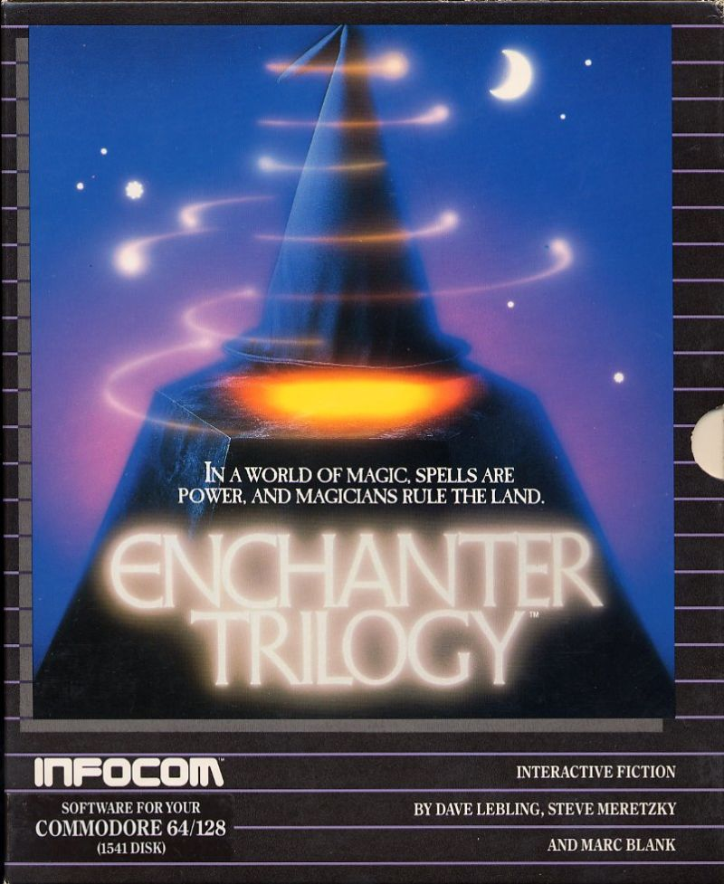 Enchanter Trilogy Commodore 64 Front Cover