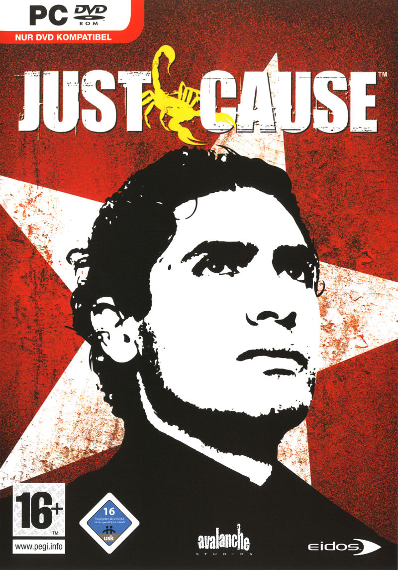 Just Cause Windows Front Cover