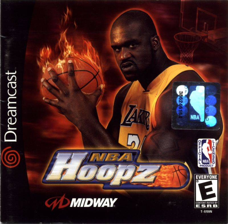 NBA Hoopz Dreamcast Front Cover