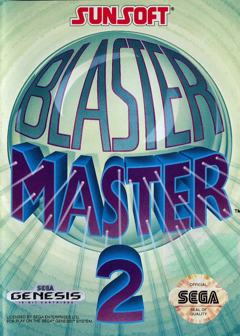 Blaster Master 2 Genesis Front Cover