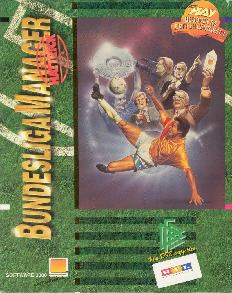 Football Limited DOS Front Cover