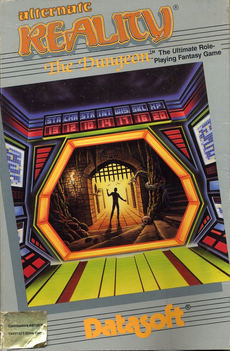 Alternate Reality: The Dungeon Commodore 64 Front Cover