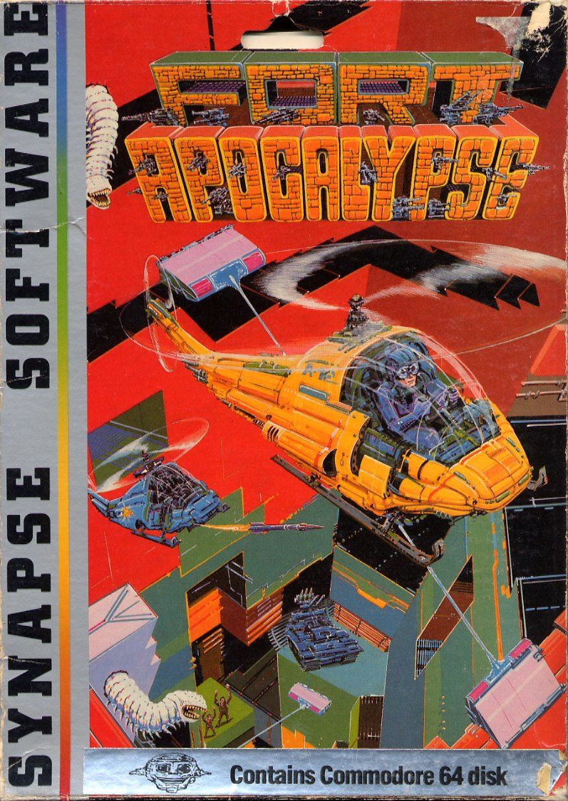 Fort Apocalypse Commodore 64 Front Cover