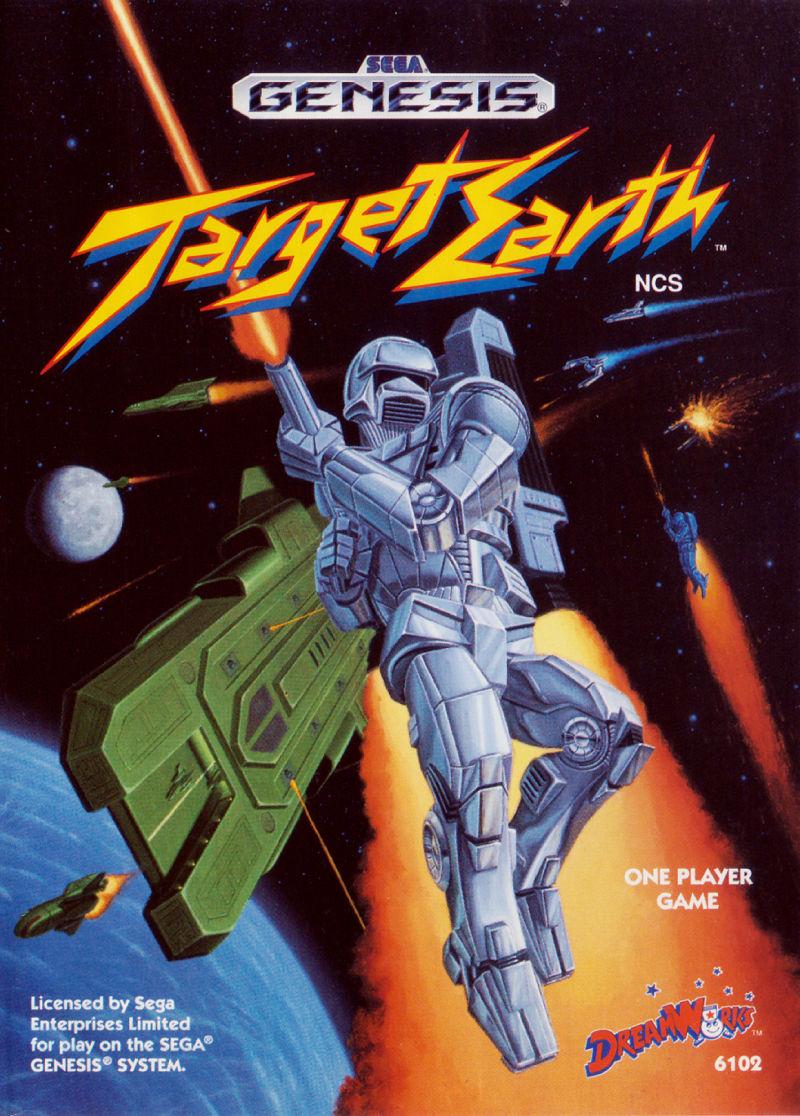 Target Earth Genesis Front Cover