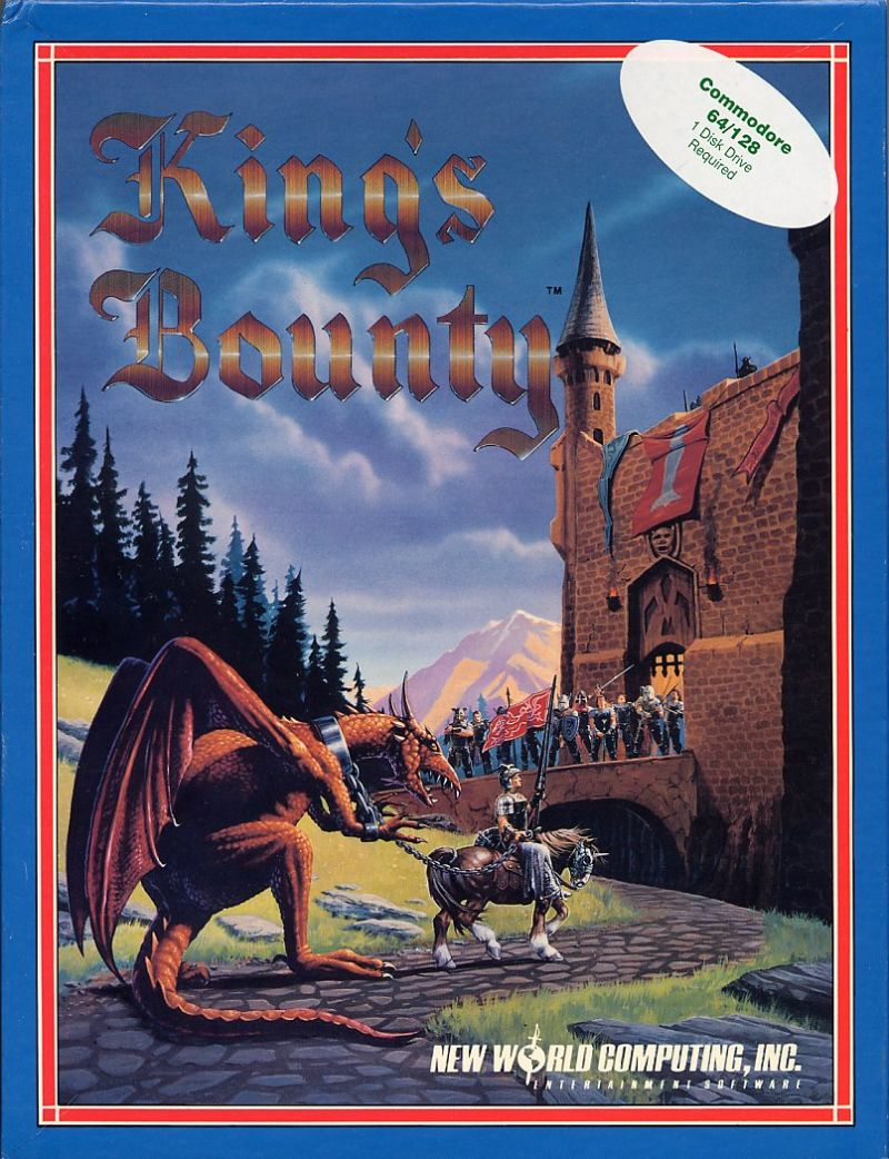 King's Bounty Commodore 64 Front Cover