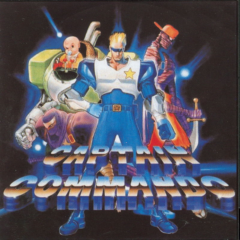 Captain Commando PlayStation Front Cover