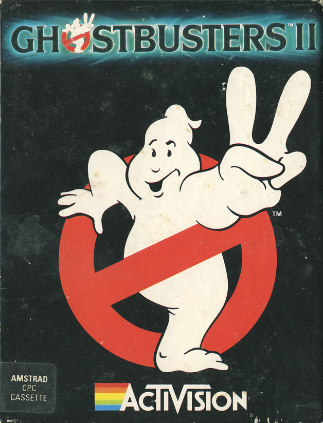 Ghostbusters II Amstrad CPC Front Cover