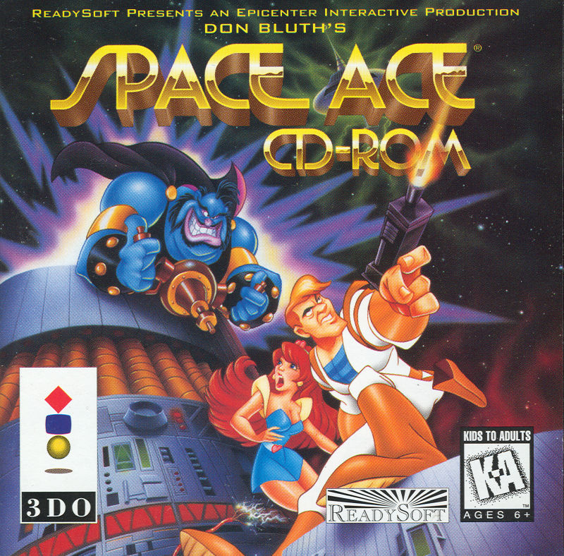 Space Ace 3DO Front Cover