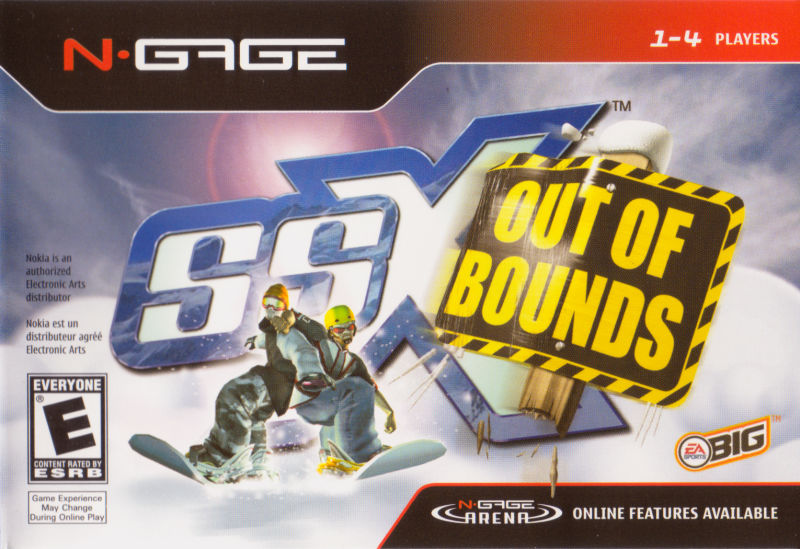 SSX Out of Bounds N-Gage Front Cover