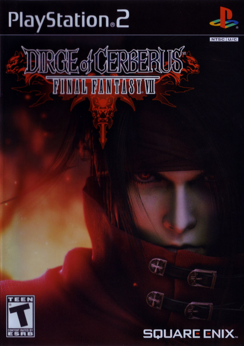 Dirge of Cerberus: Final Fantasy VII PlayStation 2 Front Cover