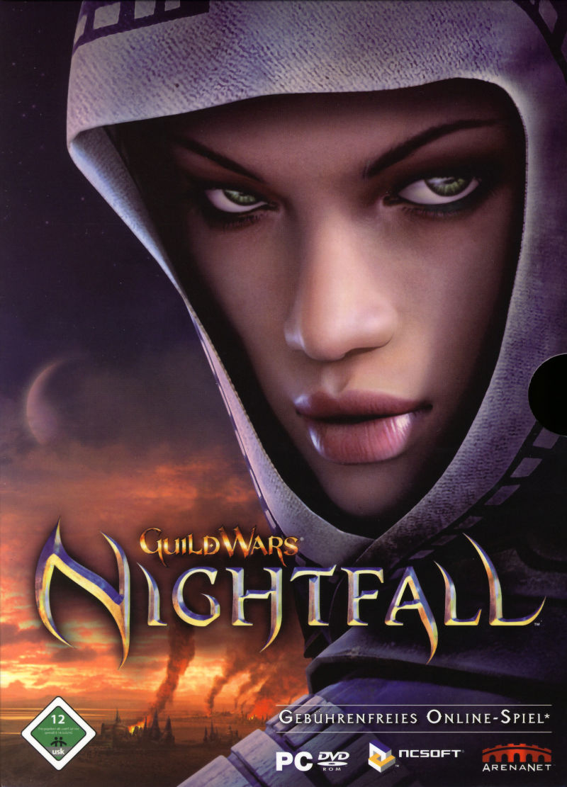Guild Wars: Nightfall Windows Front Cover