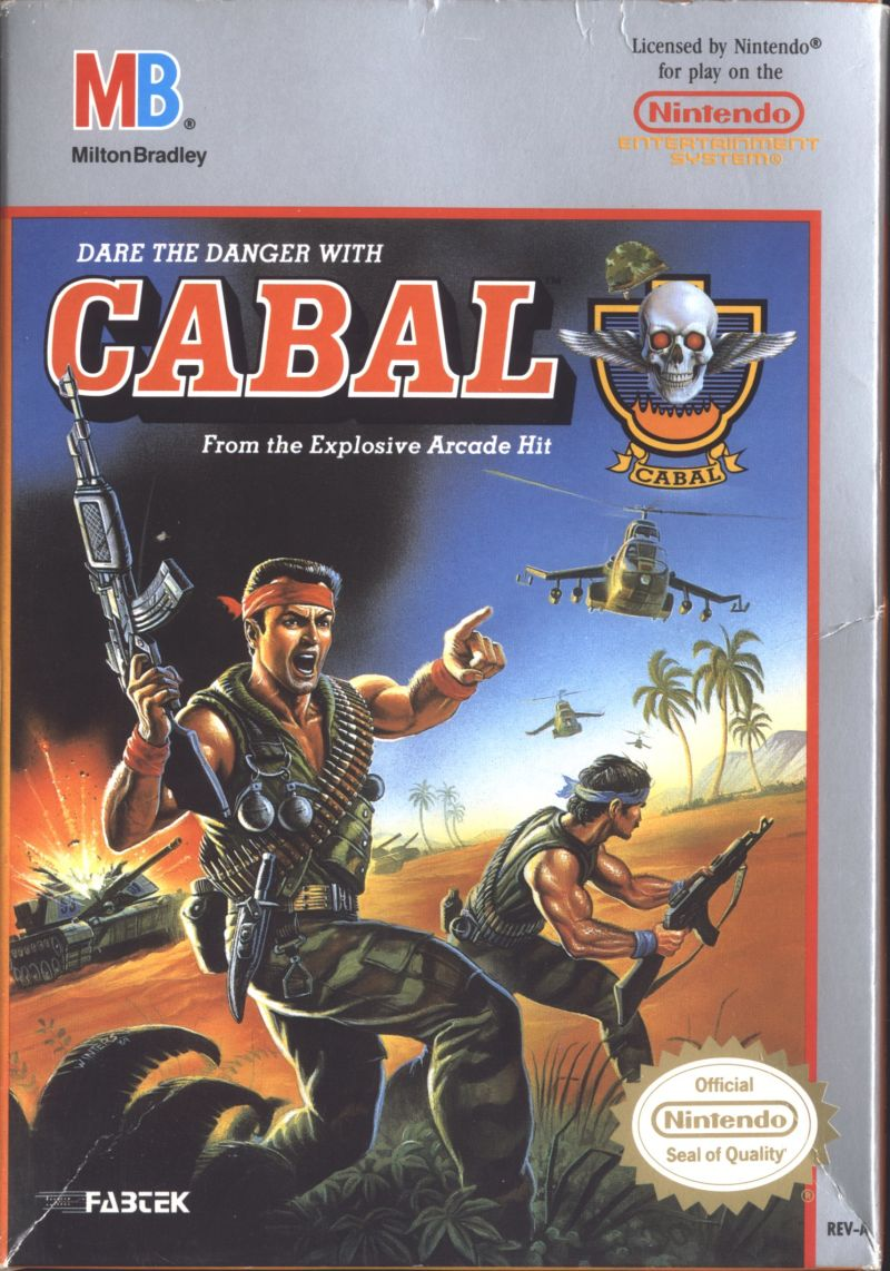 Cabal NES Front Cover