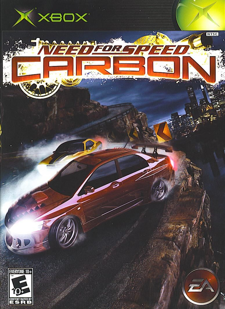 Need for Speed: Carbon Xbox Front Cover