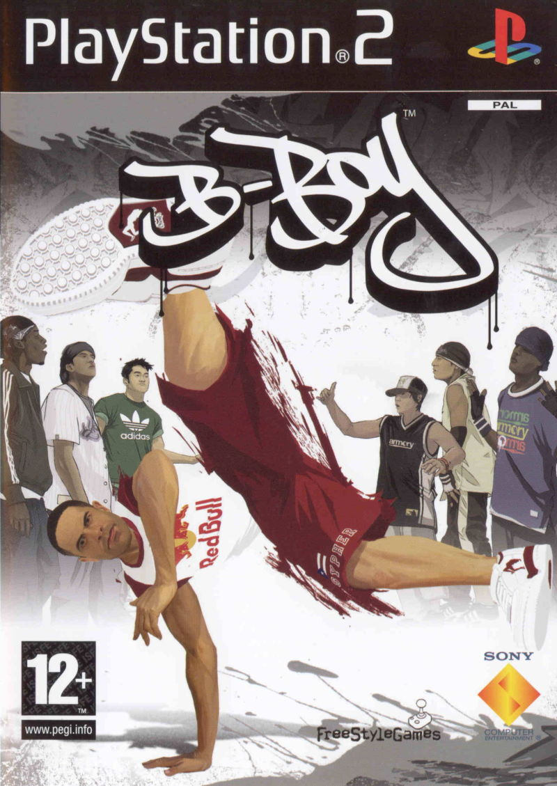 B-Boy PlayStation 2 Front Cover