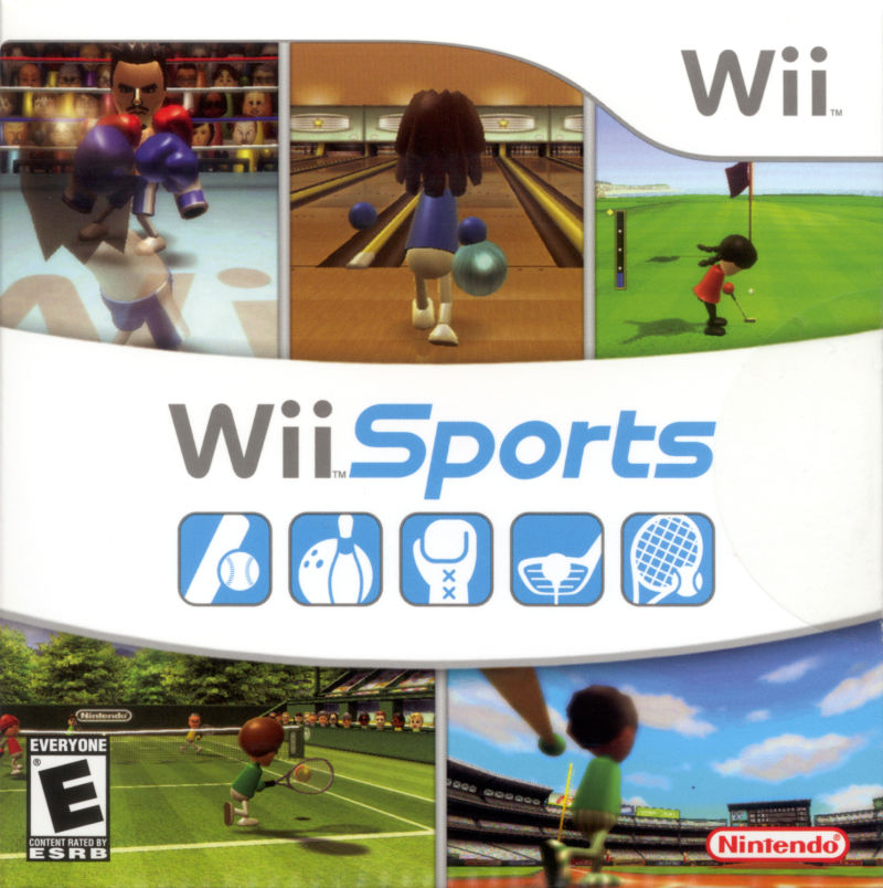 Wii Sports Wii Front Cover