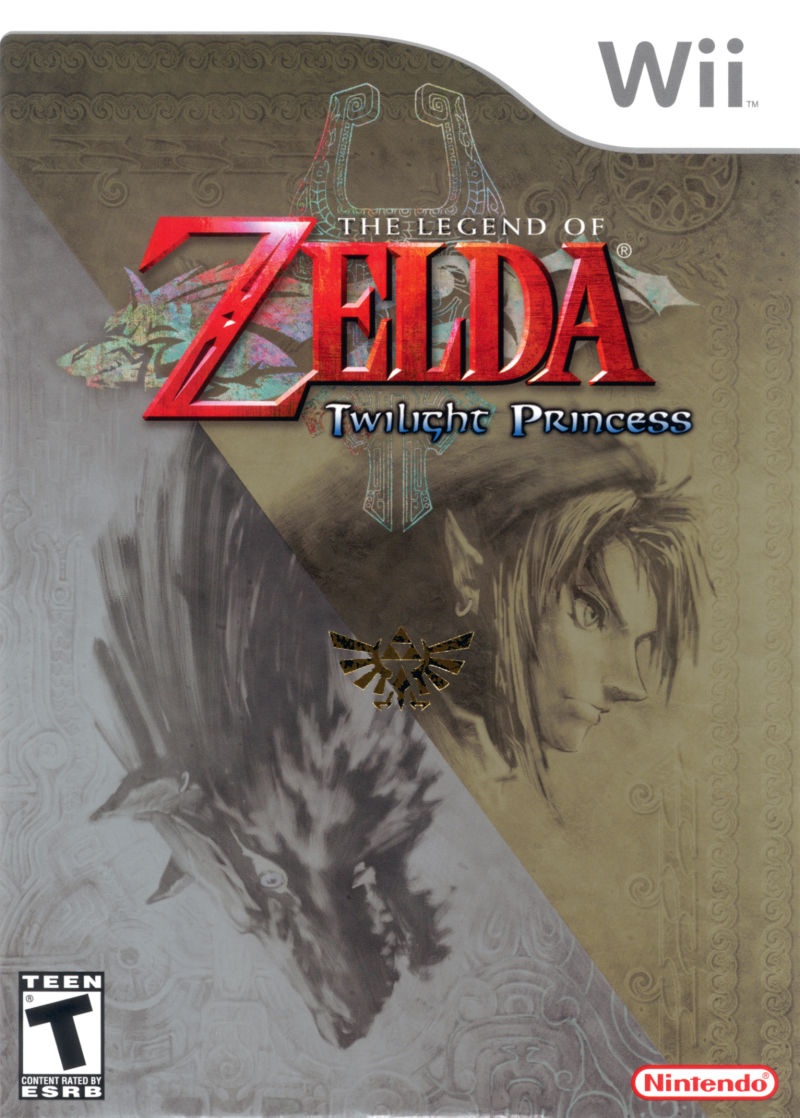 The Legend of Zelda: Twilight Princess Wii Front Cover