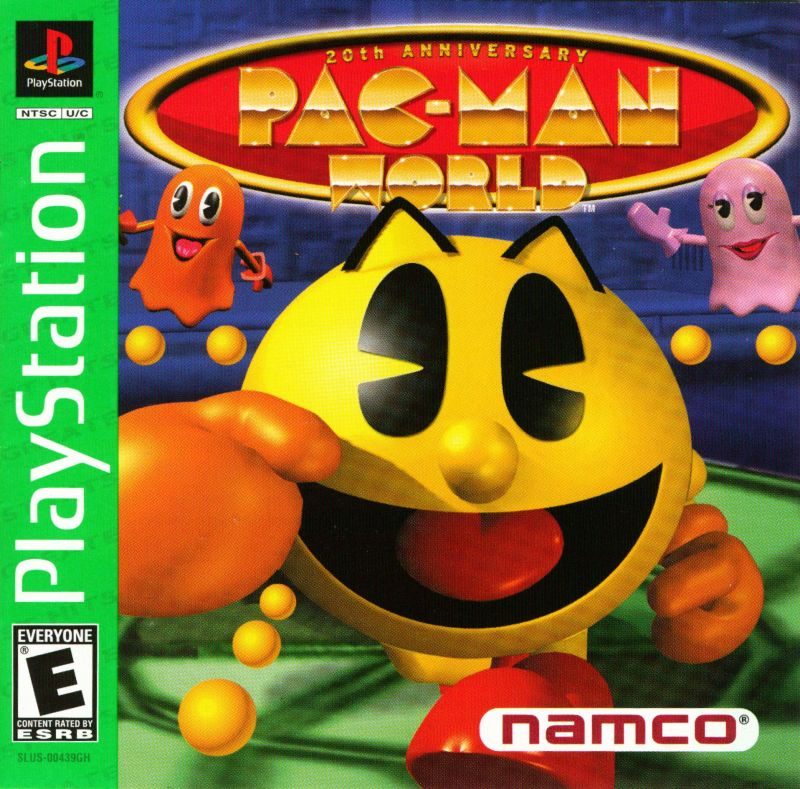 Pac-Man World PlayStation Front Cover