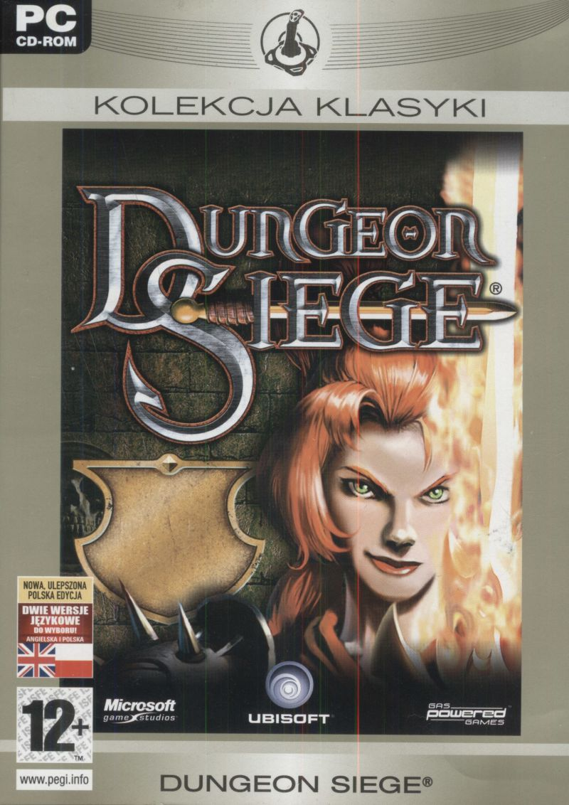 Dungeon Siege Windows Front Cover