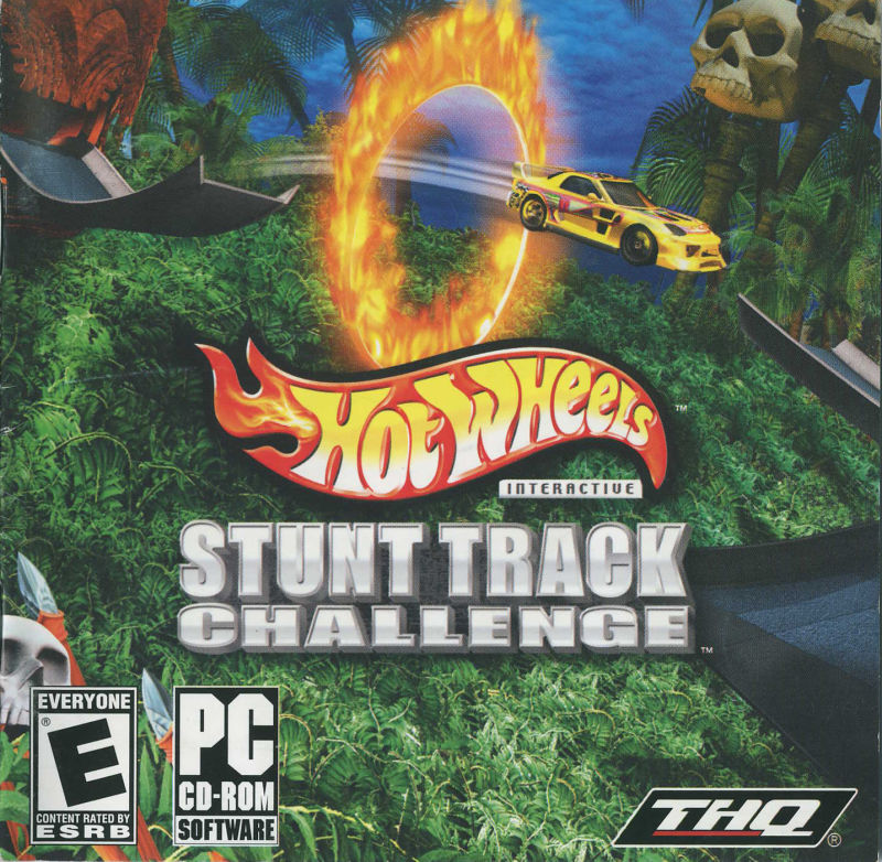 Hot Wheels: Stunt Track Challenge Windows Front Cover