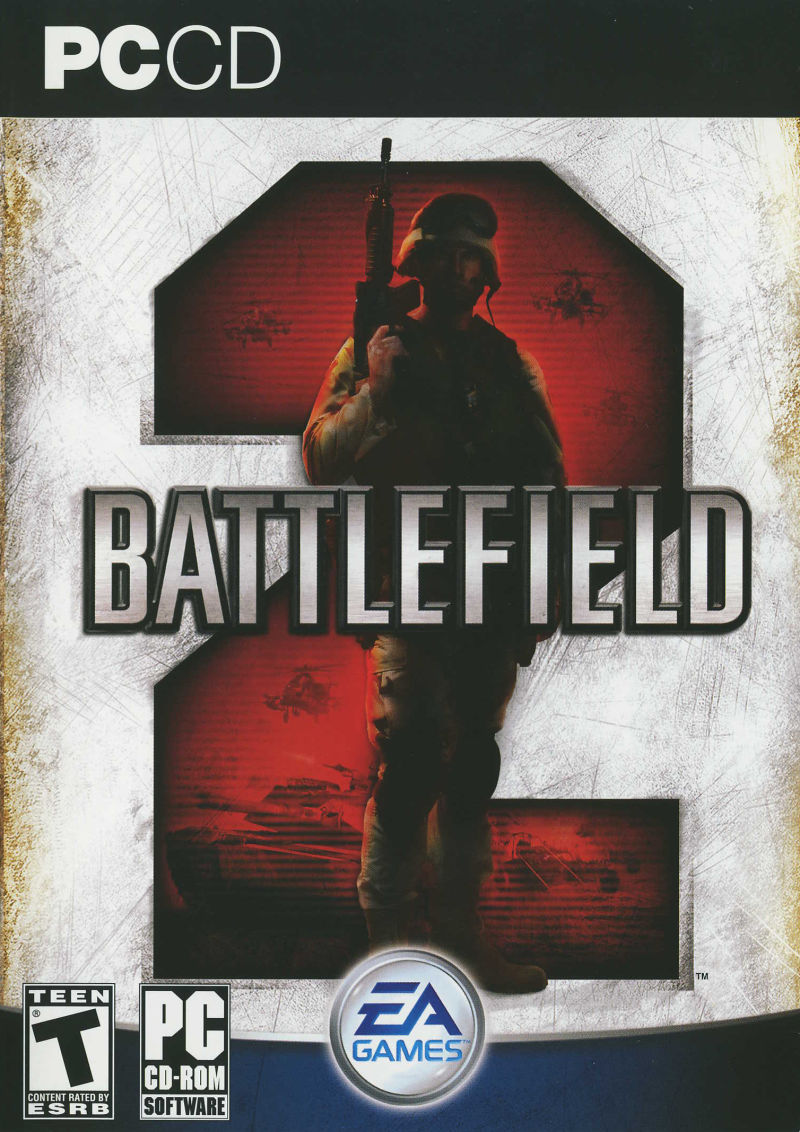 Battlefield 2 Windows Front Cover