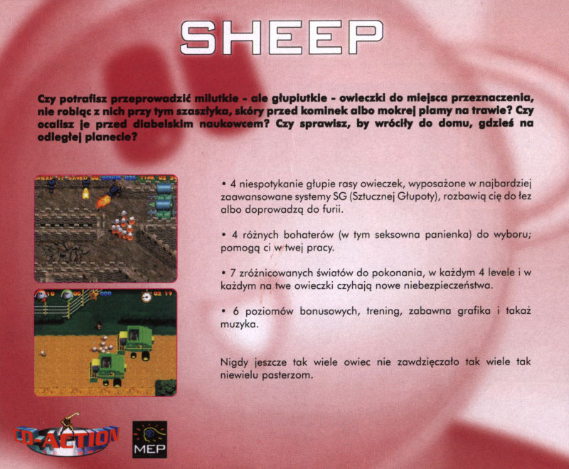 Sheep Windows Back Cover