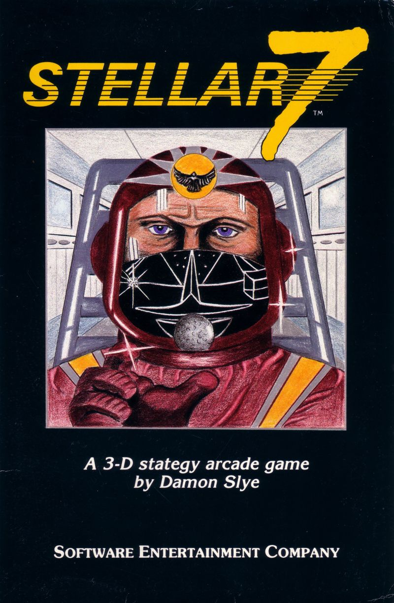 Stellar 7 Apple II Front Cover