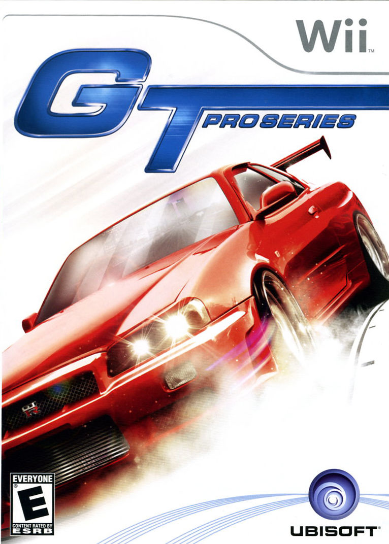 GT Pro Series Wii Front Cover