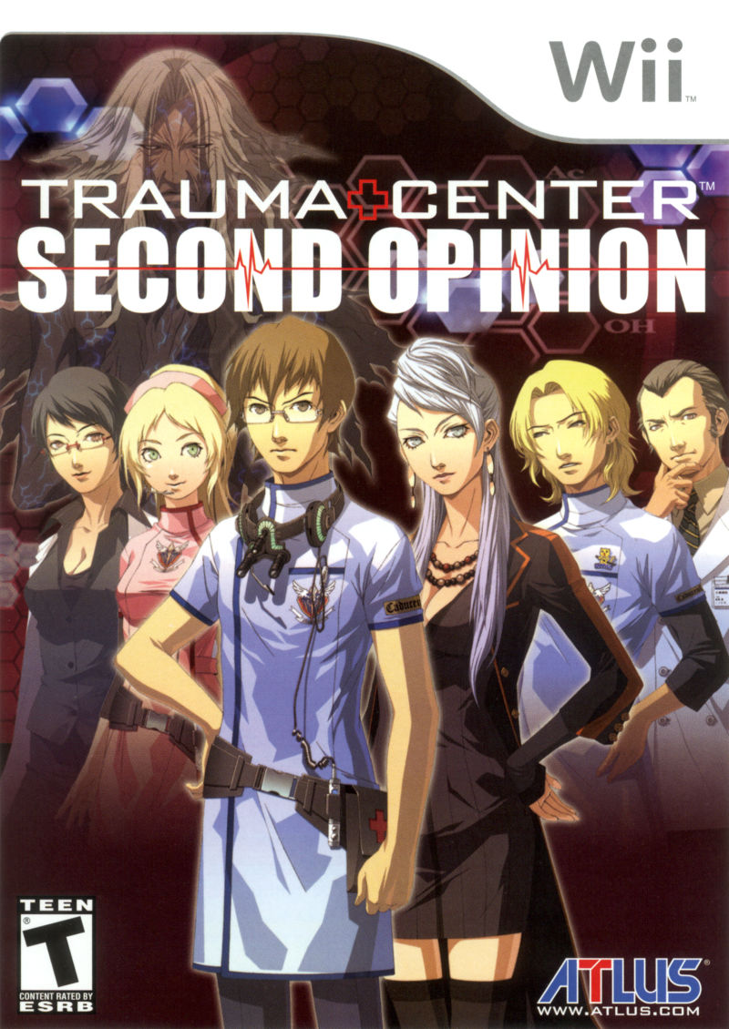 Trauma Center: Second Opinion Wii Front Cover