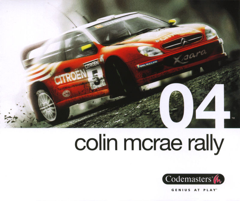 Colin McRae Rally 04 Windows Other Jewel Case - Front