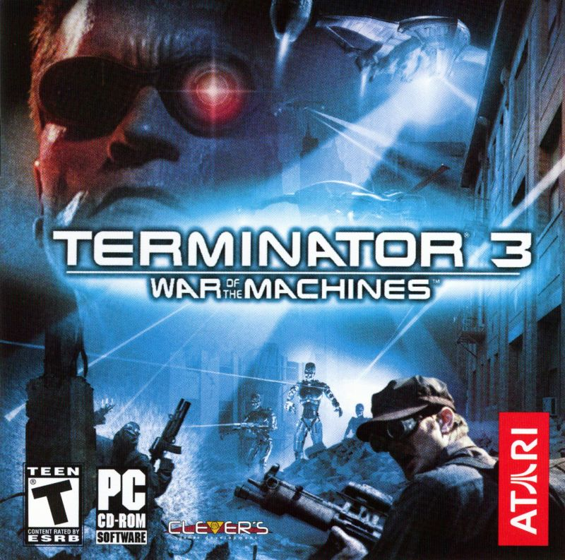 Terminator 3: War of the Machines Windows Other Jewel Case - Front