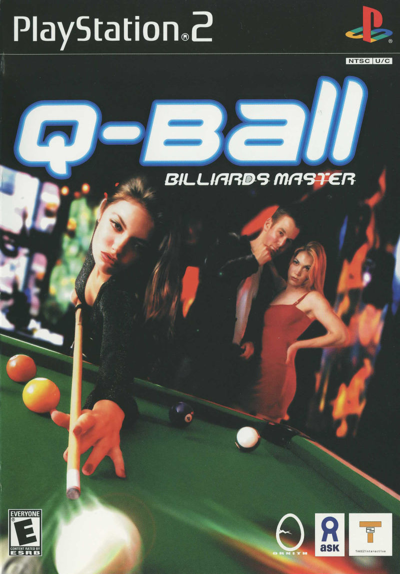 Q-Ball Billiards Master PlayStation 2 Front Cover