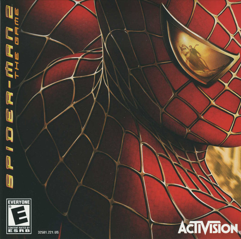 Spider-Man 2: The Game Windows Other Jewel Case - Front