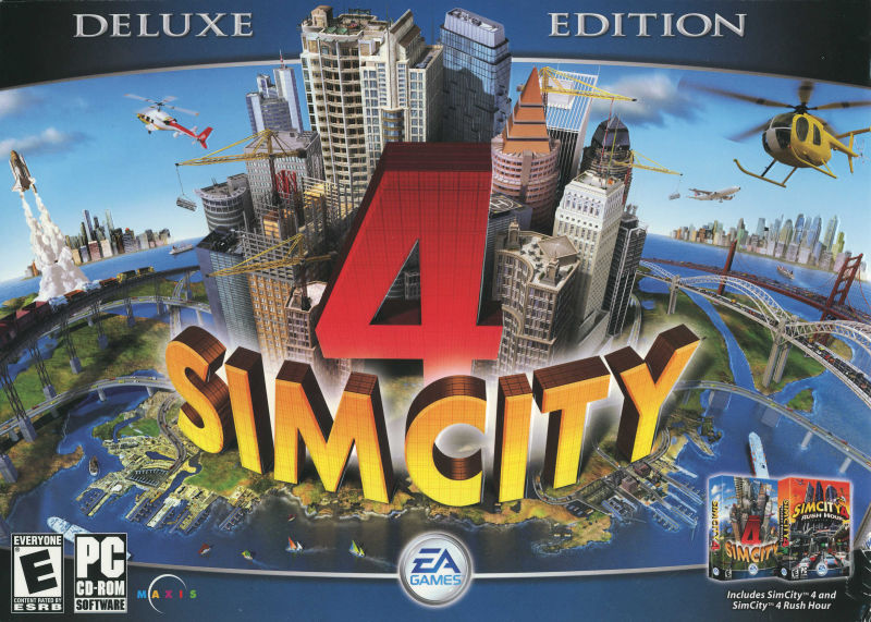 SimCity 4 Deluxe Edition Windows Front Cover