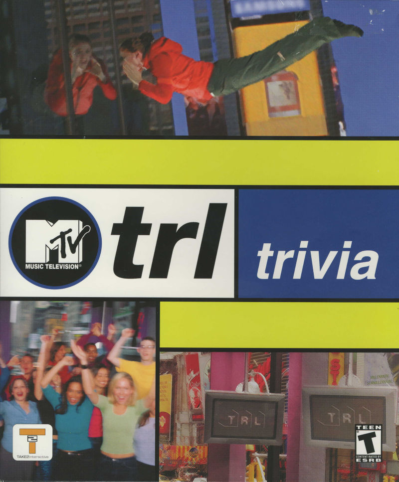 MTV Total Request Live Trivia Windows Front Cover