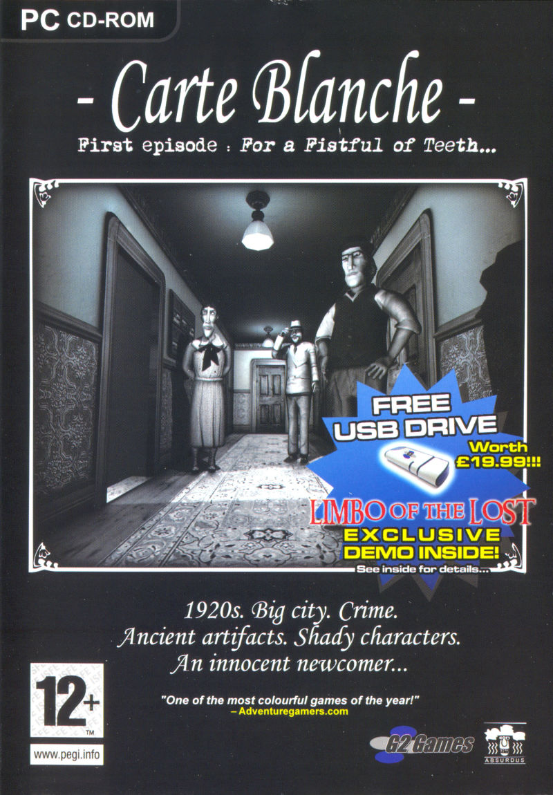 Carte Blanche: First Episode - For a Fistful of Teeth Windows Front Cover