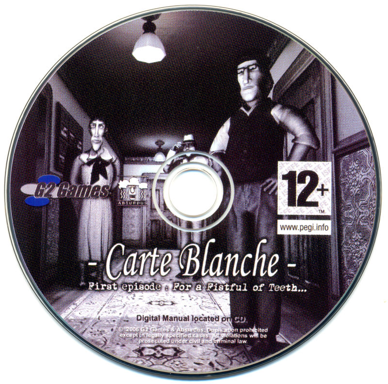 Carte Blanche: First Episode - For a Fistful of Teeth Windows Media