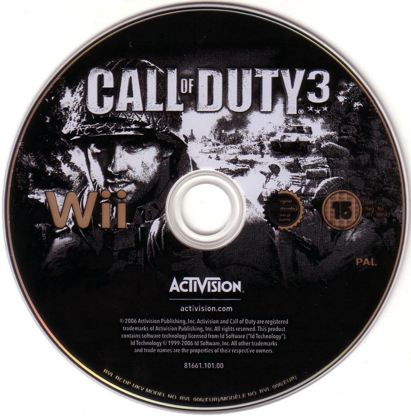 Call of Duty 3 Wii Media