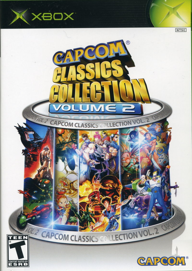 Capcom Classics Collection: Volume 2 Xbox Front Cover