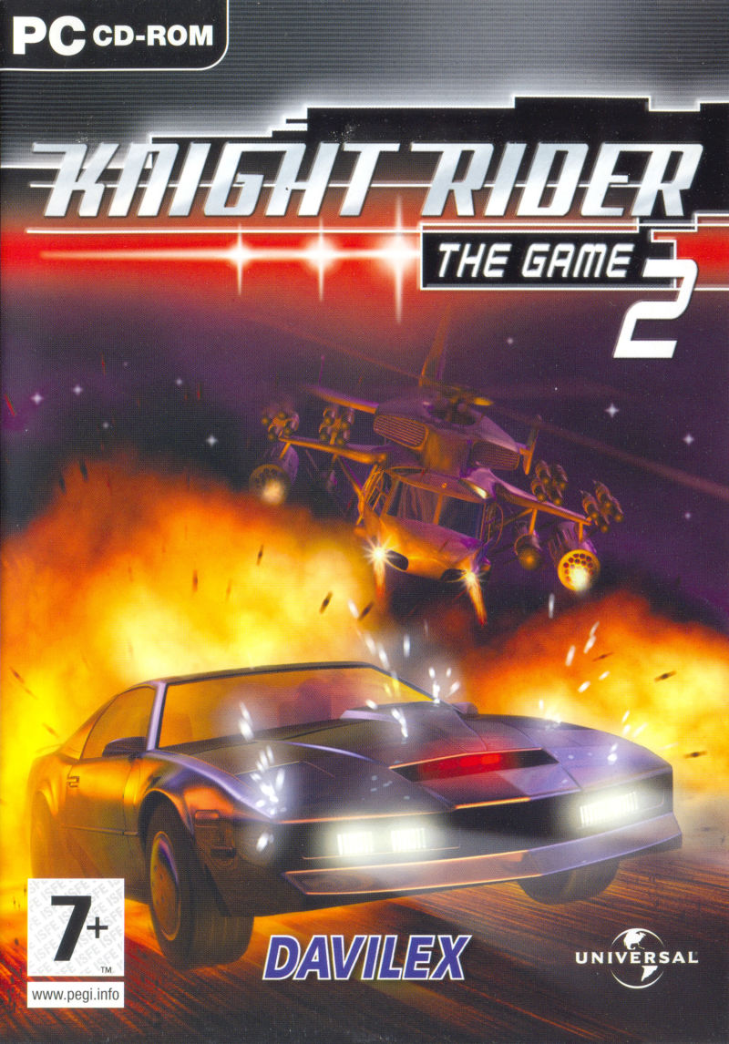 Knight Rider 2: The Game Windows Front Cover