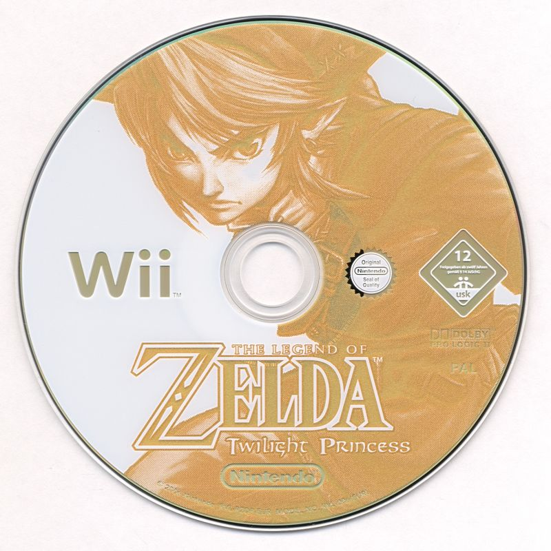 The Legend of Zelda: Twilight Princess Wii Media
