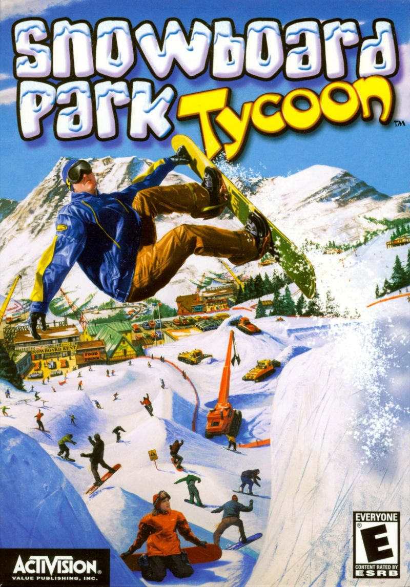 Snowboard Park Tycoon Windows Front Cover