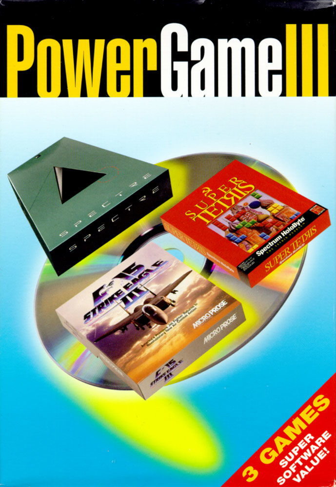 Power Game III DOS Front Cover