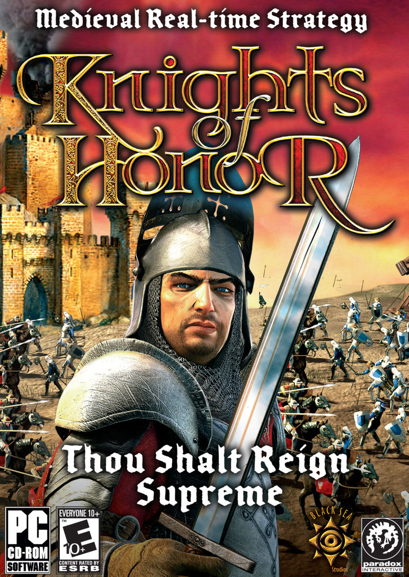 Knights of Honor Windows Front Cover
